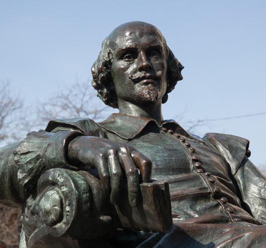 William Shakespeare Monument