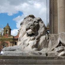 TOWN HALL LION